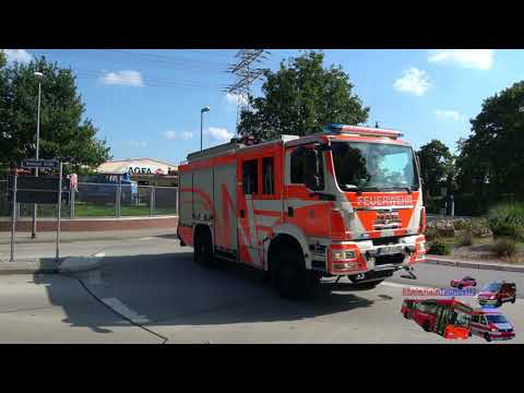 Gasgeruch im Gebäude - Einsatzfahrten Feuerwehr Wiesbaden