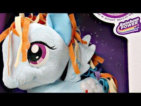 Rainbow Dash Cutie Light Up Plush / Pluszowy Rainbow Dash - Rainbow Power - My Little Pony - 82720