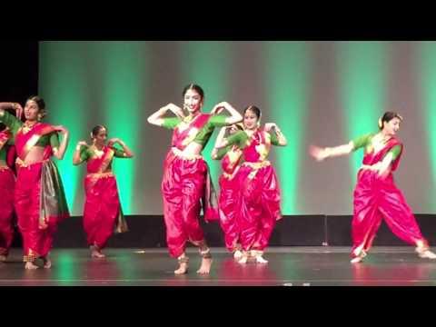 Wajle Ki Bara Lavani Dance Performance - Nartan Dance Academy