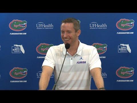 Florida Basketball: Mike White Press Conference 9-25-18