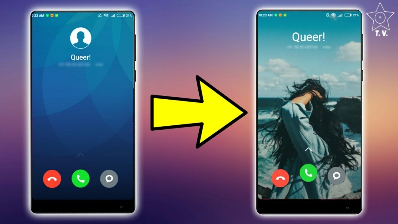 [How to] Change your Call-Screen background !
