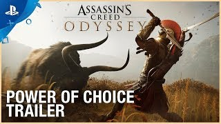 Assassin's Creed Odyssey - The Power of Choice Trailer | PS4