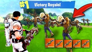 *NEW* ZOMBIES GAME MODE! (Fortnite Battle Royale)