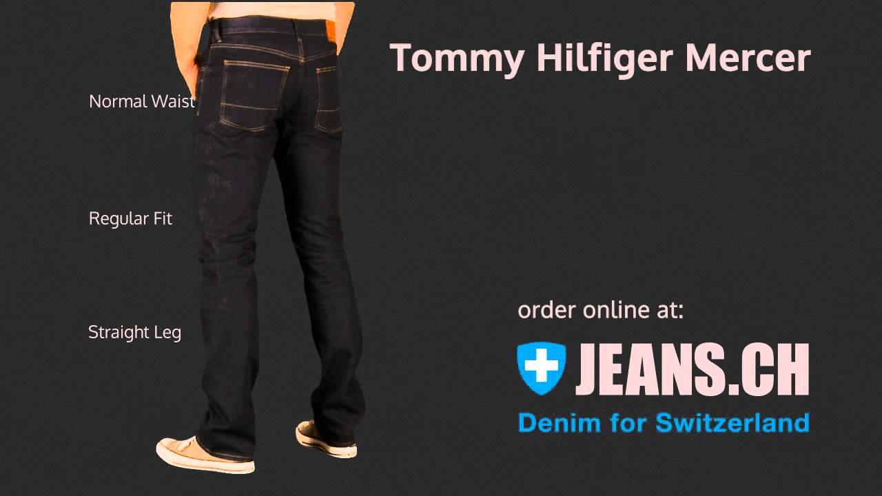 Tommy Hilfiger Herren Core Mercer Regular Jean Jeanshose