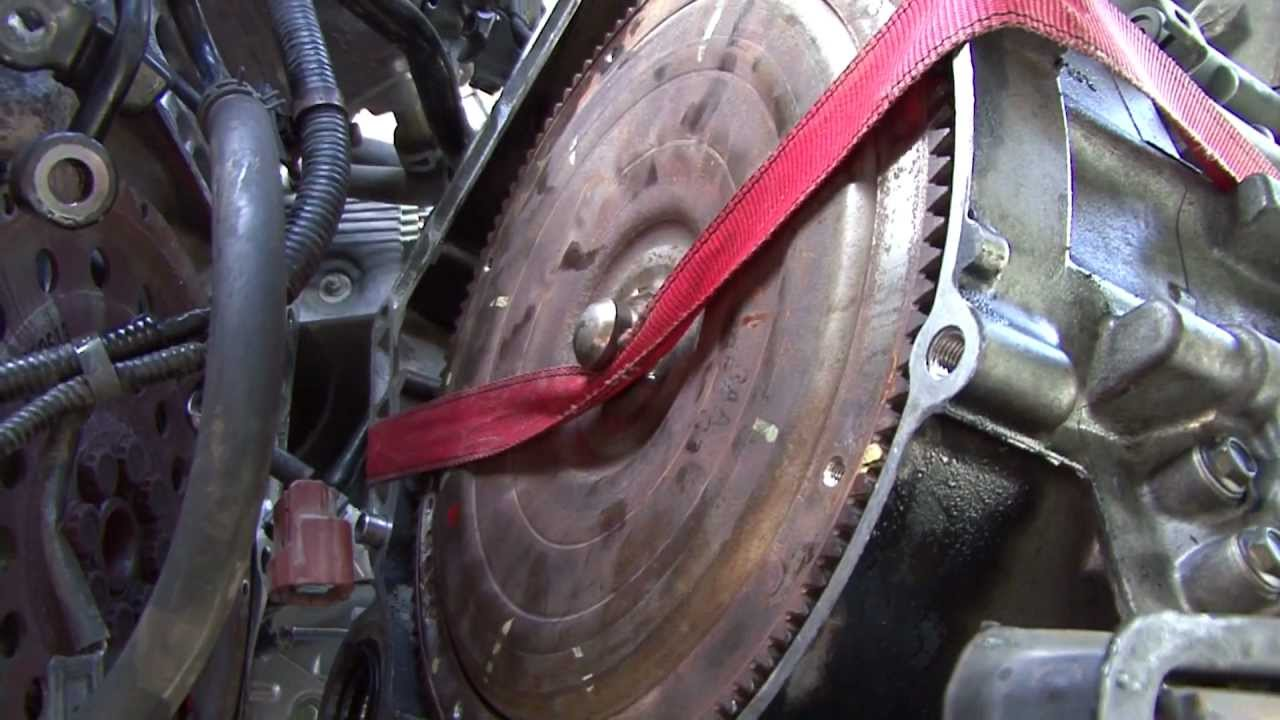 How to help hold your Honda Torque converter in place - YouTube