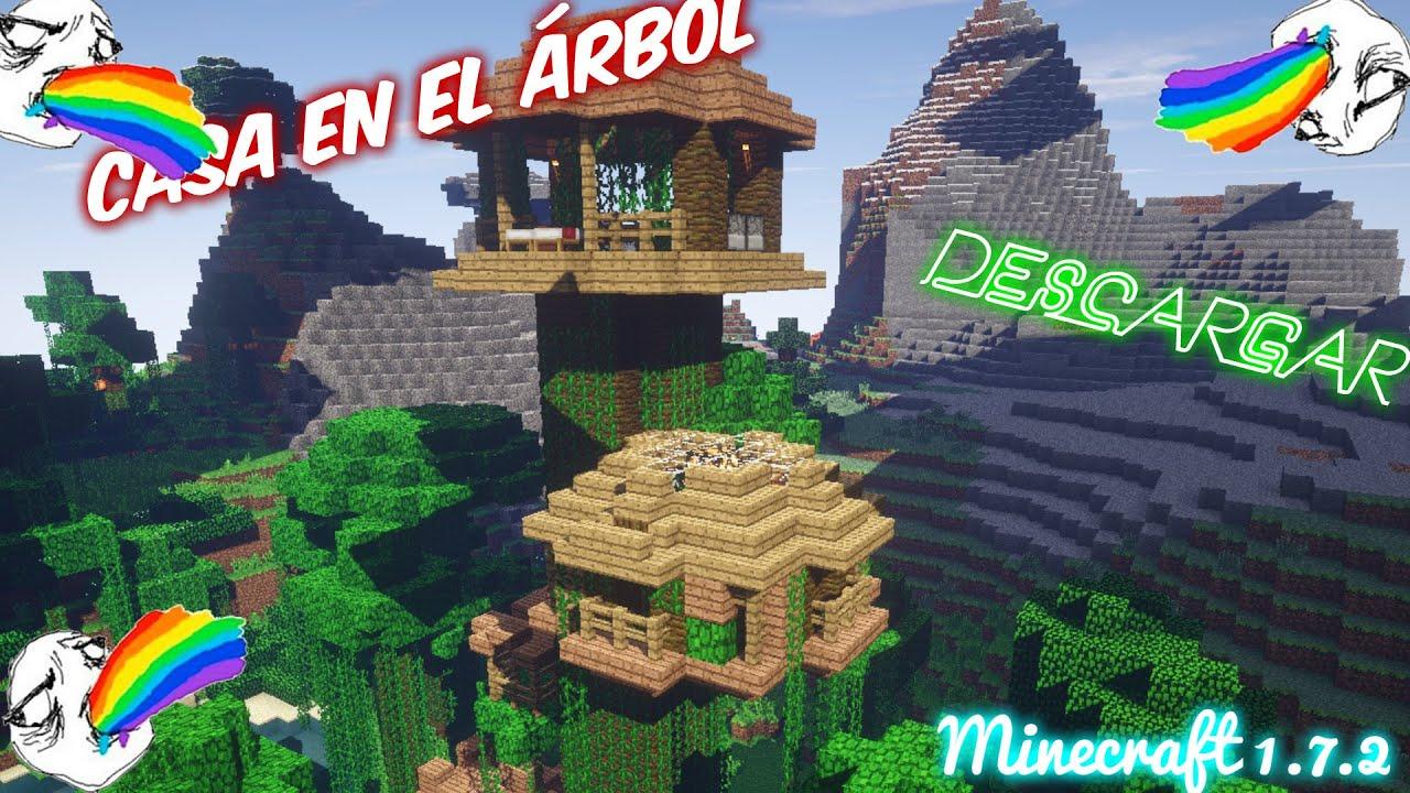 Descargar casa en el rbol minecraft 2014 en la jungla - Casas en el arbol ...