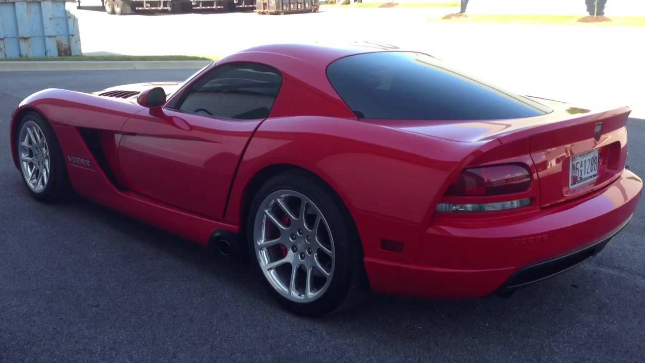 2006 Dodge Viper Sale Walkaround Youtube Vipers