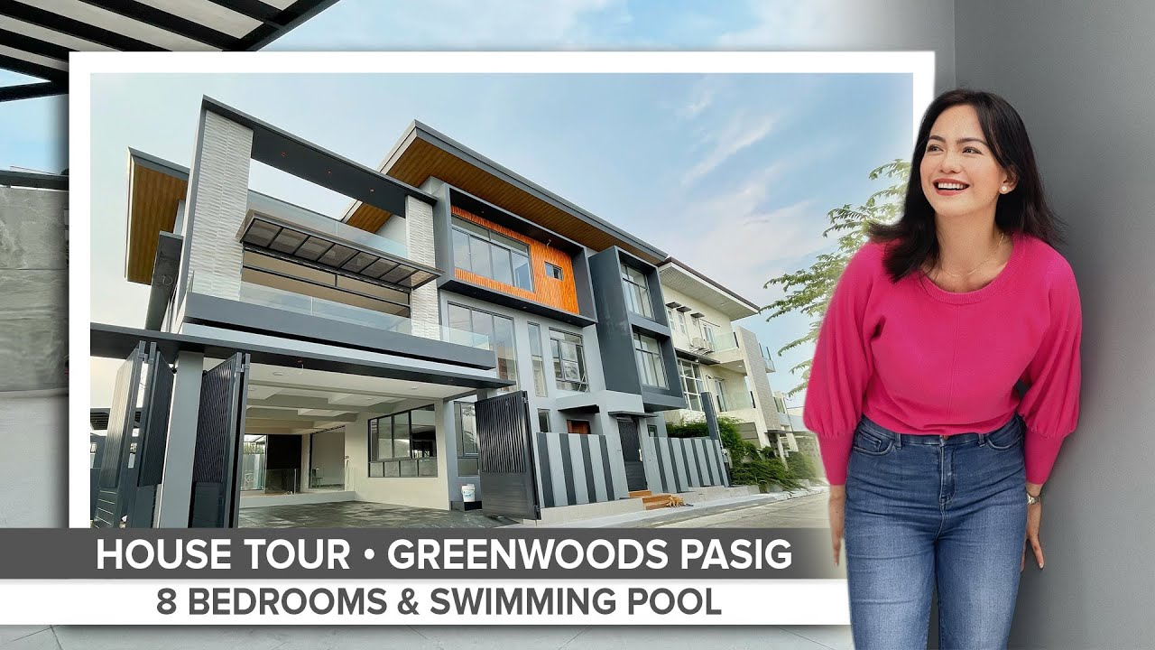 Download House Tour 55 • Touring this Massive 8-Bedroom House For Sale in Greenwoods Pasig • ₱35 Million