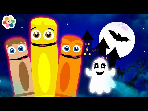 Halloween Songs for Kids | Halloween Nursery Rhymes | Spooky Scary Songs by BabyFirst TV