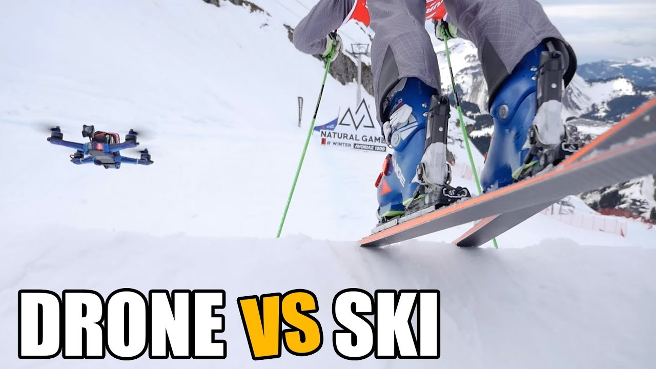DEFI : DRONE vs SKI (feat. Jean-Frédéric Chapuis)