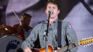 James Blunt - Wisemen live Dresden Freilichtbühne Junge Garde 08.08.2014