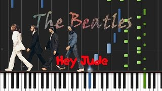 The Beatles - Hey Jude Synthesia Tutorial