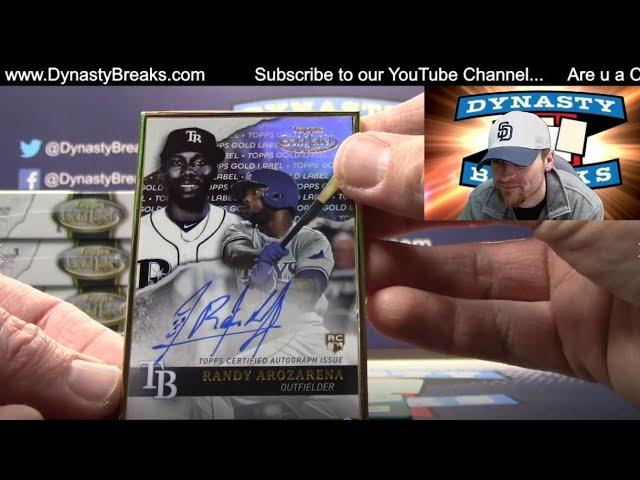 2020 Topps Gold Label Baseball Card 16 Box Case Break #7   Sports Cards