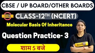 Download CBSE UP & Other Board | Class 12th NCERT |By Radhika Ma'am || Molecular Basis of Inheritance - 3
