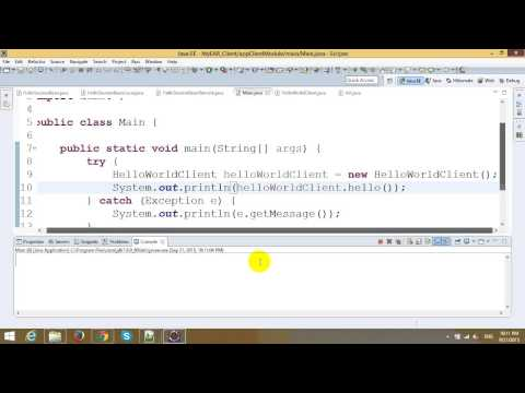 EJB Tutorial - Part 1 - Application Client