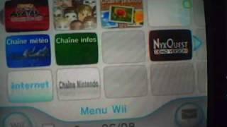 comment connecter sa Wii a interne et recevoir 500 wii point gratuit (partie 2)