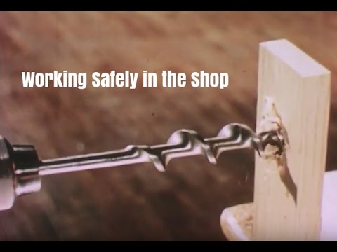 Power Tool Safety - Working Safely in the Shop - Industrial Arts Video
