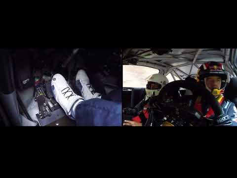 Onboard Sebastien Loeb - Citroën C4 WRC - Hillclimb Turckheim