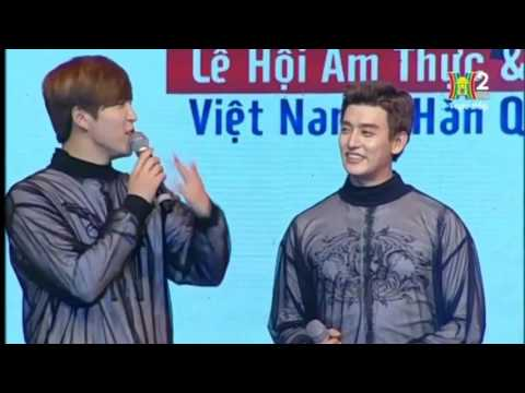 161111 【2016 KOREA & VIETNAM FOOD & CULTURE FESTIVAL HaNoi】Opening Ceremony U-KISS cut