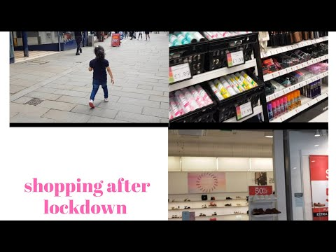 Shopping After Lockdown In Rochdale Town Centre Aw Vlogs:-)