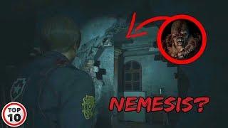 Scariest Easter Eggs You Missed In Resident Evil 2