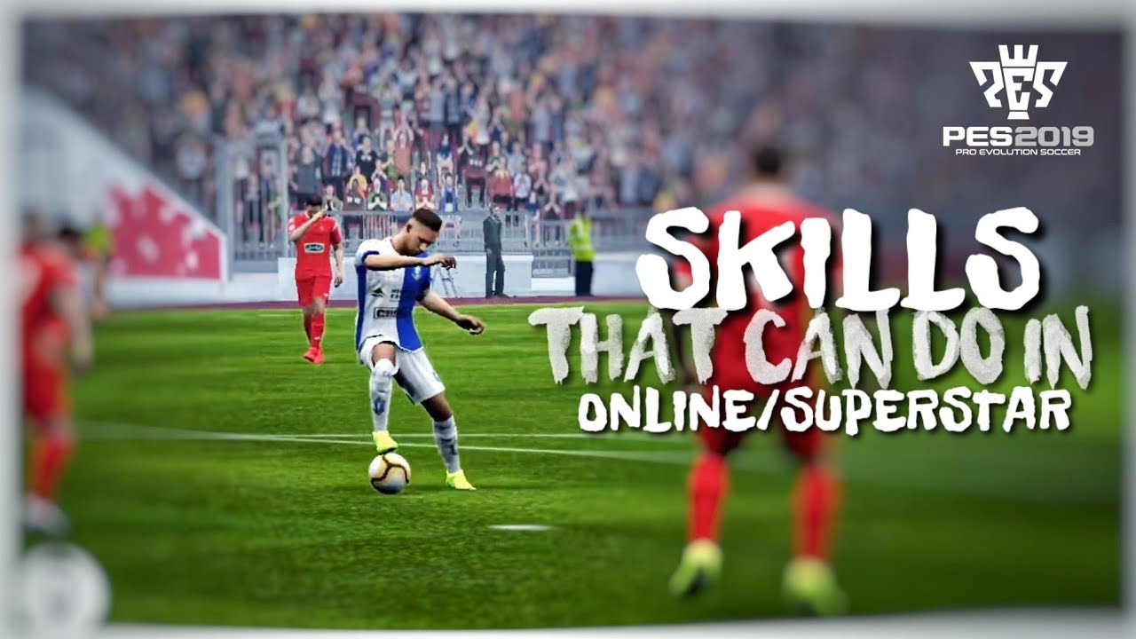 One Easy TRICK to Do SKILL in PES 2019 Mobile