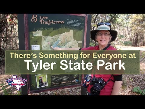 Explore Beautiful Tyler State Park! | Camping in Texas | RV Texas