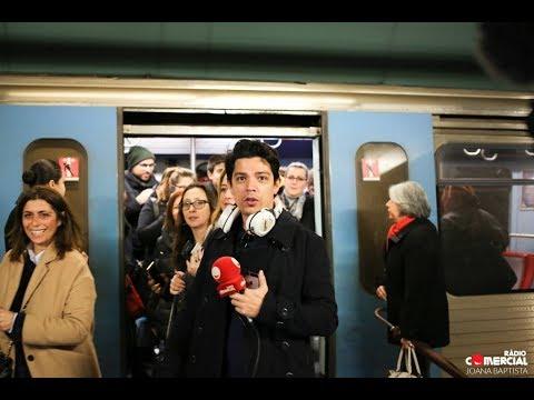 Rádio Comercial | Manhãs da Comercial fazem emissão no Metro de Lisboa