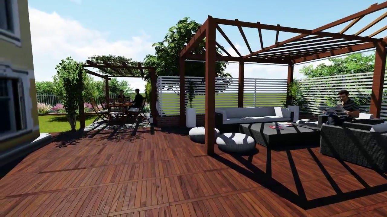 Progettazione giardini e terrazzi online richiedi subito - Terrazzi e giardini pensili ...