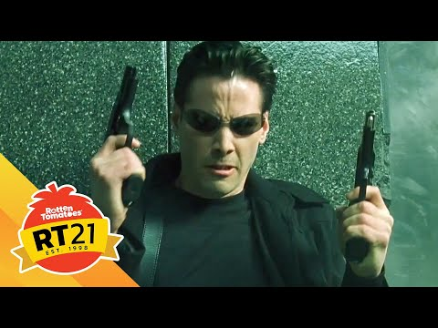 21 Most Memorable Movie Moments: The Government Lobby from The Matrix (1999)