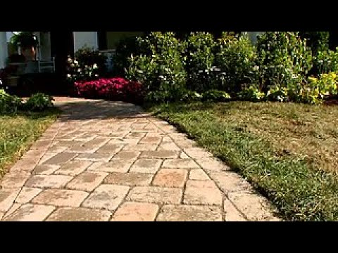 How To Install A Paver Walkway Diy Network
