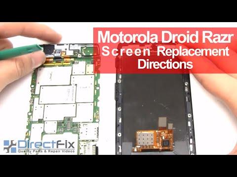 Motorola Droid Razr Screen Replacement