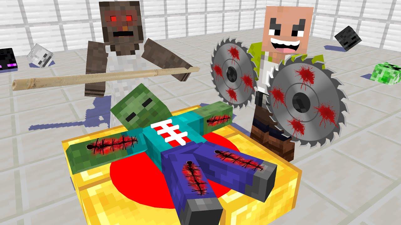 Monster School : Mr.Meat Sad Story - Minecraft Animation