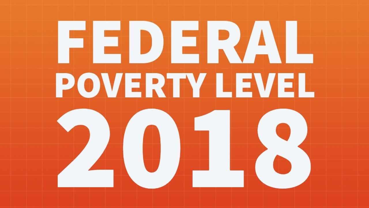 federal poverty level fpl for 2018 youtube