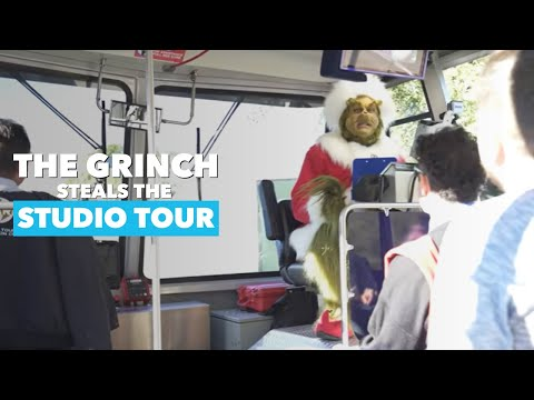 What Happens When The Grinch Steals The Universal Studio Tour