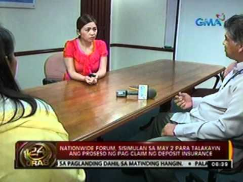 24oras: PDIC, nag-take over sa Export and Industry bank