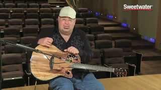 ovation celebrity elite plus ce44p fkoa figured koa acoustic electric guitar demo sweetwater sound