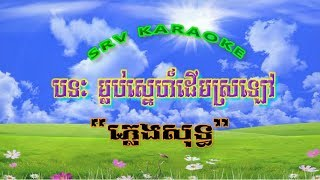 Karaoke Khmer ភ្លេងសុទ្ធ, បទៈ, ម្លប់ស្នេហ៍ដើមស្រឡៅ ភ្លេងសុទ្ធ, ឆ្លងឆ្លើយ, SRV karaoke Sin Sisamuth
