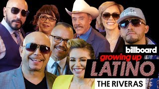Rivera Family Talk Childhood Traditions, Importance of Family & More | Growing Up Latino