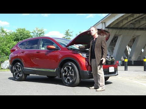 2017 Honda CR-V Car Review And Test Drive