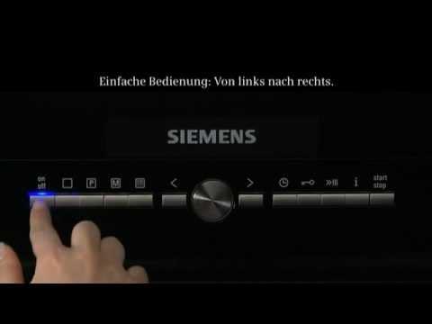 Siemens Backöfen mit lightControl