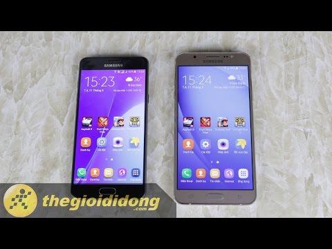 [Speedtest] Samsung Galaxy A5 2016 và Galaxy J7 2016 | Thế Giới Di Động