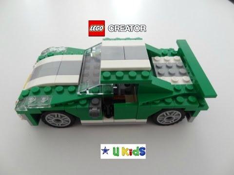 คู่มือสอนวิธีการต่อเลโก้รถแข่งครีเอเตอร์ แบบที่ 1 (วิดีโอรีวิวของเล่น)