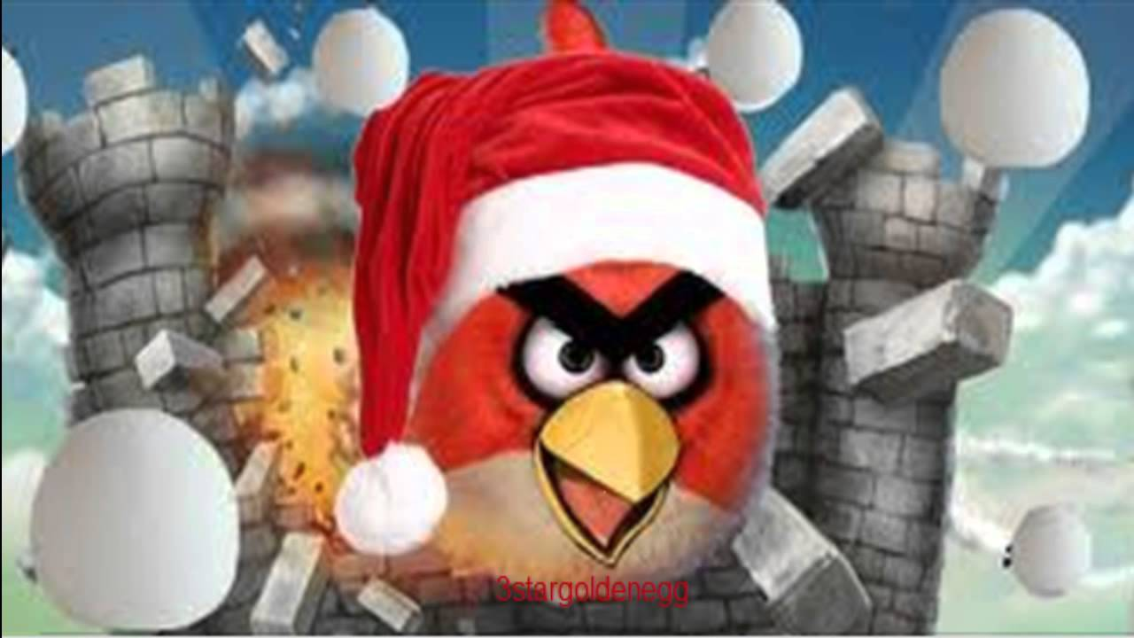 Angry birds christmas song merry christmas and happy new year youtube - Angry birds noel ...