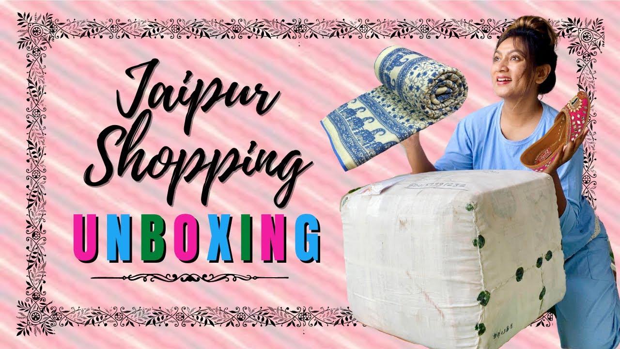 Jaipur SHOPPING unboxing || Lets unbox together! || Ashtrixx