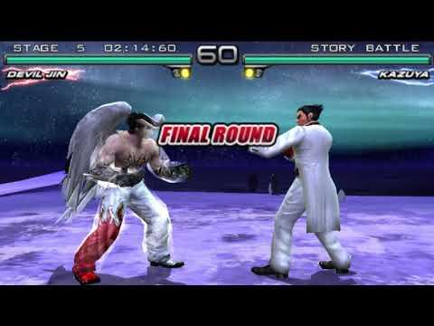 Tekken 5 Dark Resurrection Devil Jin Story Battle Youtube
