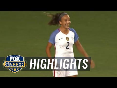 United States vs. New Zealand | Women's International Friendly Highlights