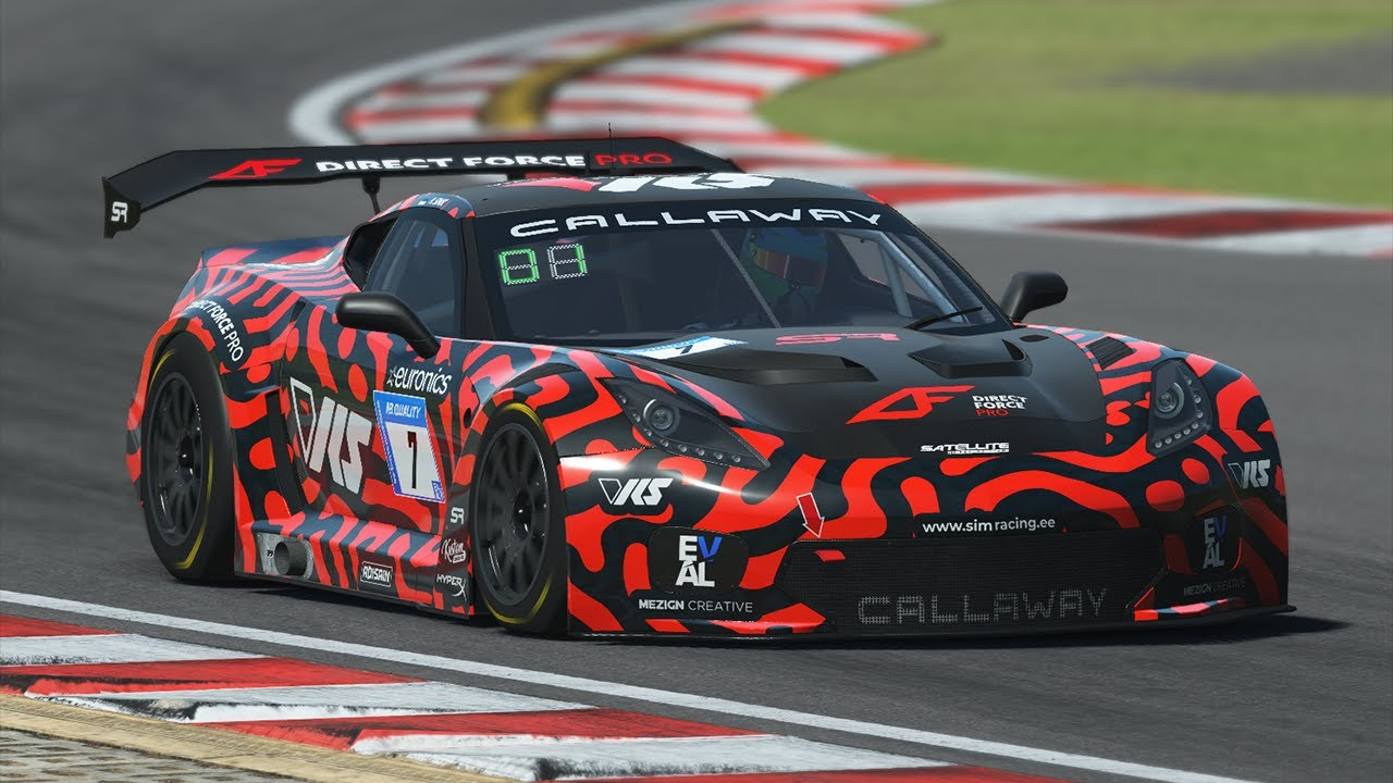 rFactor 2 | Callaway Corvette C7 GT3-R | Kyalami Hotlap 1:36.623