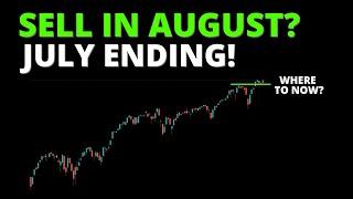 SELL IN AUGUST? (S&P500, SPY, QQQ, DIA, IWM, ARKK, BTC)