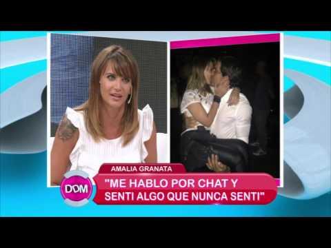 Amalia Granata fue acusada de robar ex maridos